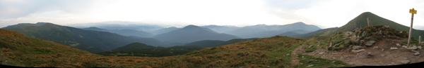 Панорама з Брескула